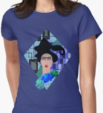 BLUES MOODS 5. Women's Fitted T-Shirt