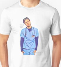 Niemand kümmert sich um Sean, niemand kümmert sich darum - voller JD-Stil Slim Fit T-Shirt