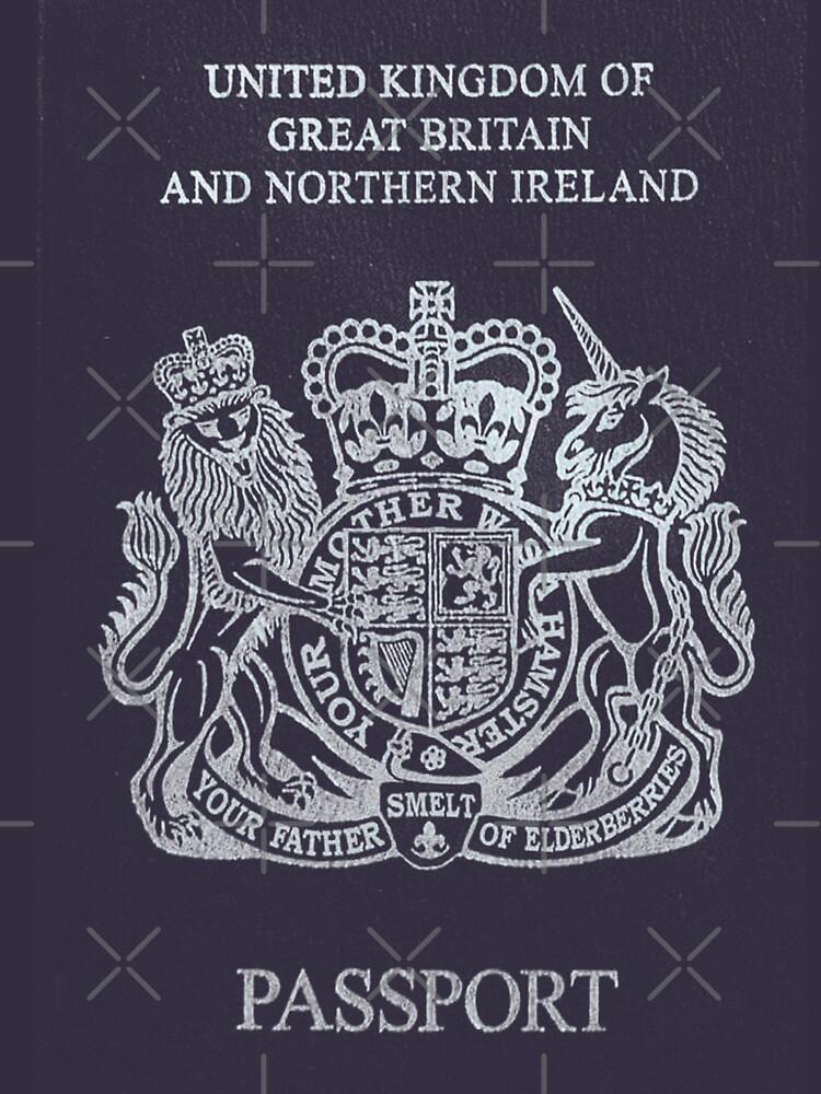 Brexit Passport by MrHandsome
