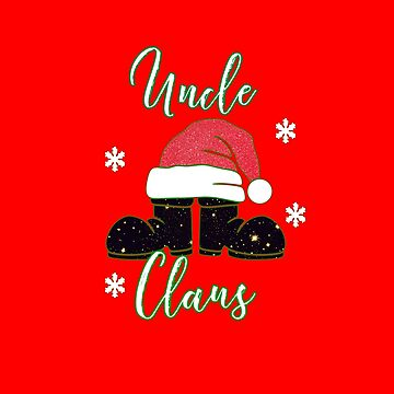 Uncle Claus Christmas Pajama Family Matching Gift T-Shirt  by LisaLiza