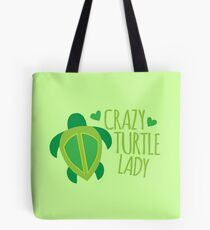 Crazy Turtle Lady Tote Bag
