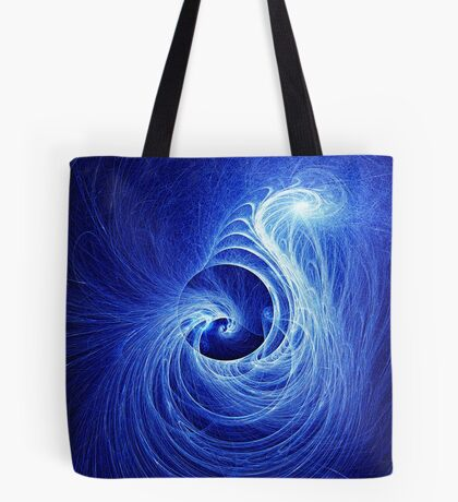 Abstract Full Moon Waves Tote Bag