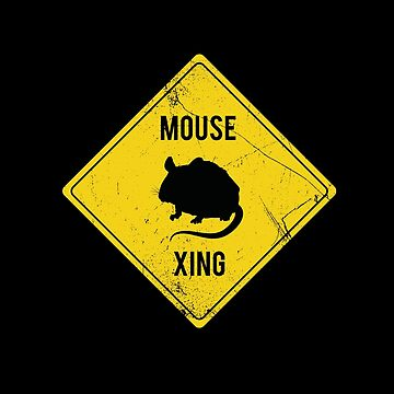 Mouse Xing by BlueRockDesigns