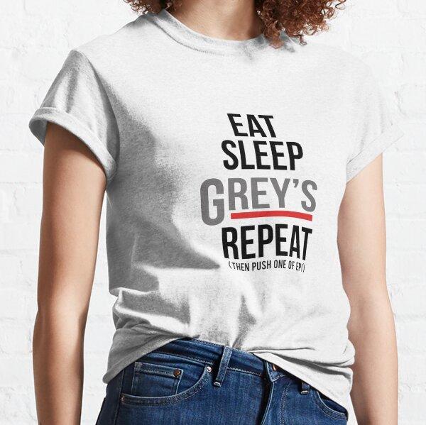 La repetición de Grey Camiseta clásica