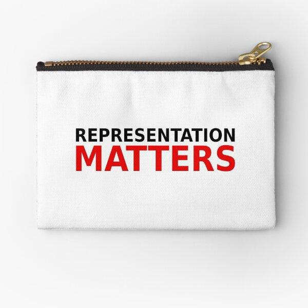 Representation Matters  Zipper Pouch