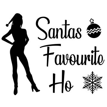 Santa's Favourite Ho by collection-life