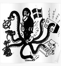 Octopus Fun Poster