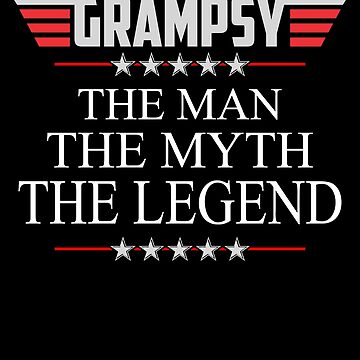 Grampsy The Man The Myth The Legend Father's day xmas gift by BBPDesigns