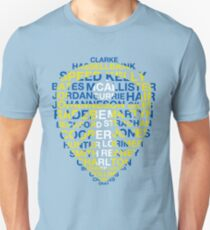 Leeds United Best Players Badge Unisex T-Shirt
