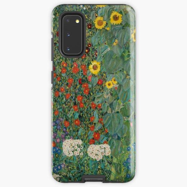 Klimt Blumen Samsung Galaxy Robuste Hülle