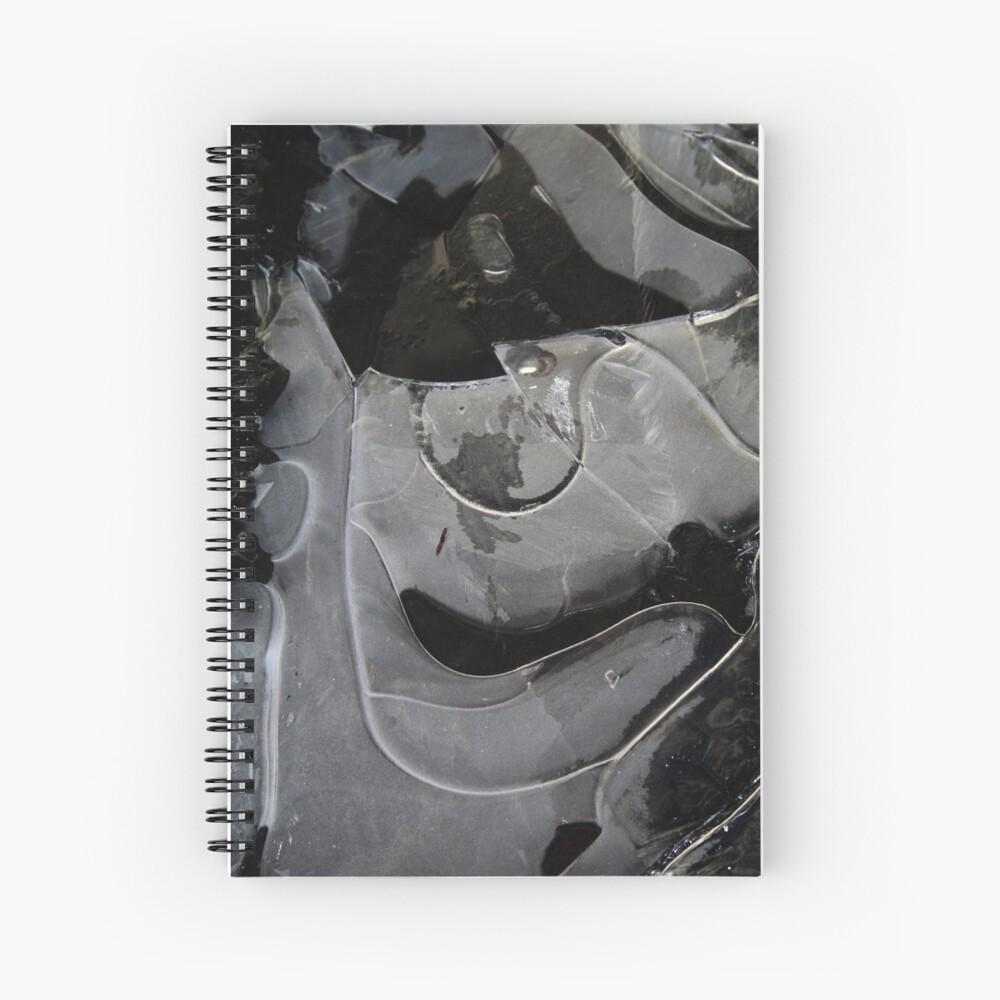 Ice  Ice   Spiral Notebook