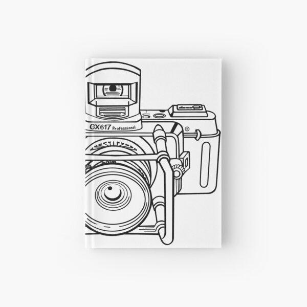 Fuji Camera Hardcover Journal