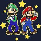 Mario Brothers by RainytaleStudio