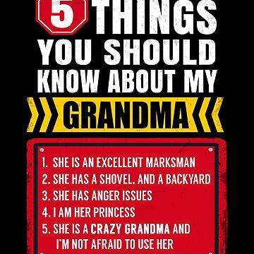 5 Things You Should Know About My Grandma Funny by JapaneseInkArt