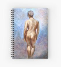 Standing Nude Spiral Notebook