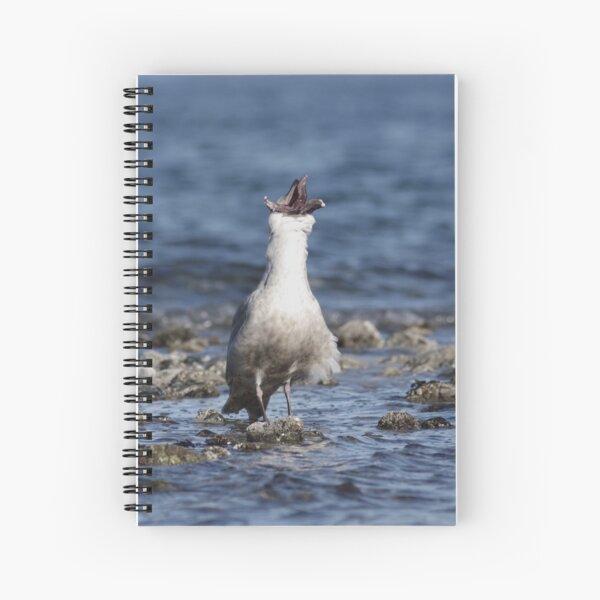 Seastar Swallow Spiral Notebook