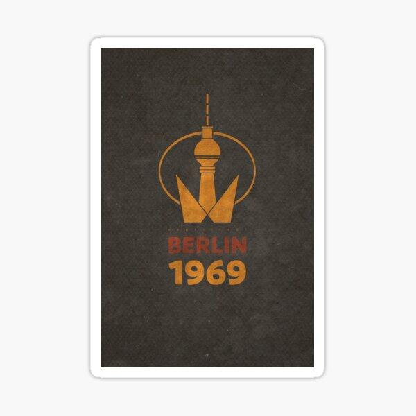 Berlin TV Tower 1969 Sticker