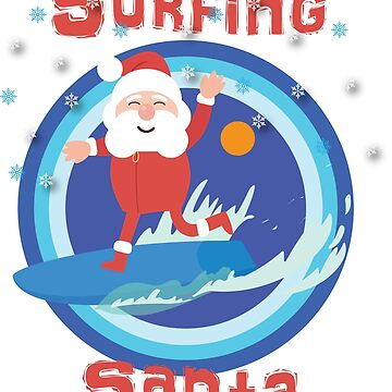 Surfing Santa by antonioluppino