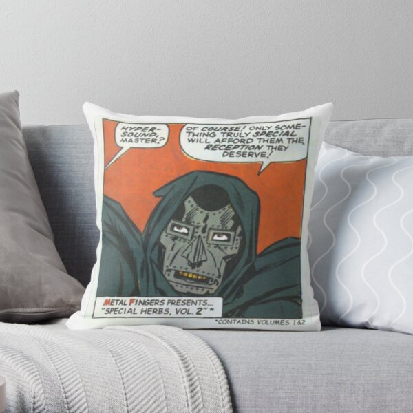 MF Doom - Metal Fingerz Cojín