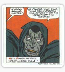 MF Doom - Metal Fingerz Sticker