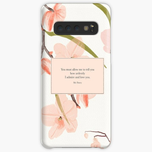 You must allow me to tell you... Mr. Darcy. Pride and Prejudice. Samsung Galaxy Snap Case
