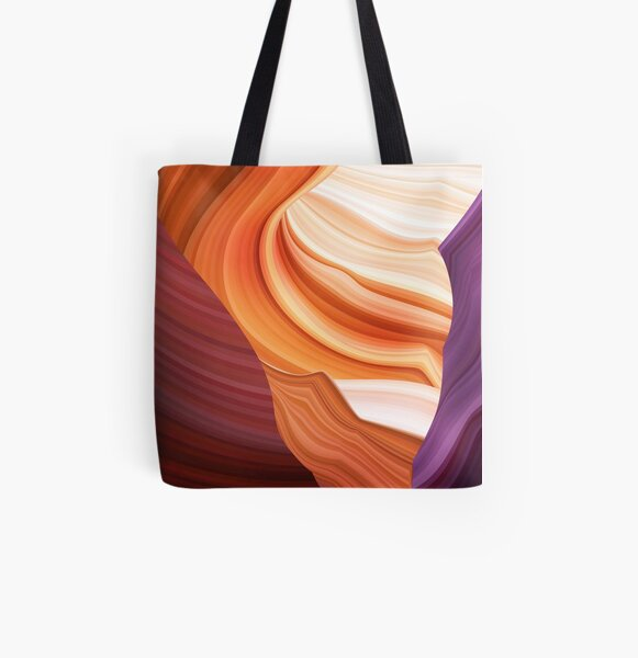 Lower Antelope canyon 3 All Over Print Tote Bag