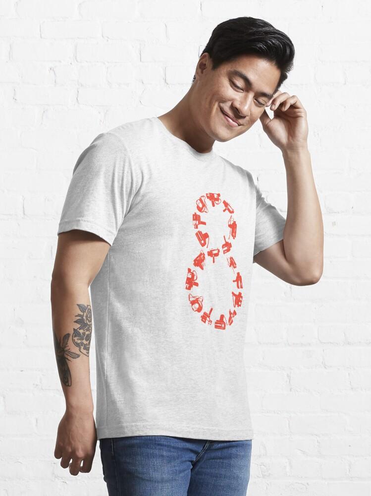 Alternate view of super8 Essential T-Shirt