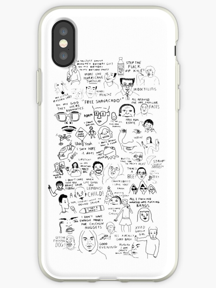 '(OLD VERSION) vine compilation (find new ULTIMATE version on my page)'  iPhone Case by cheedee