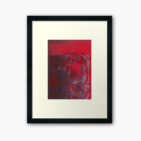 Captivate Me Framed Art Print