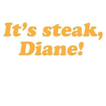 Steak Diane by thetatecreative