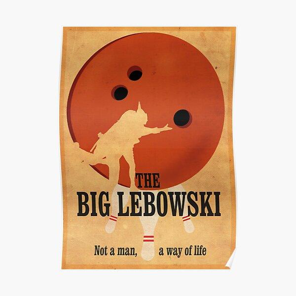 The Big Lebowski - Bowling Poster
