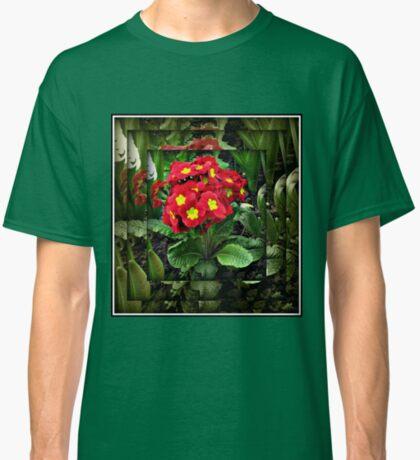 Gespiegelte Primel Classic T-Shirt