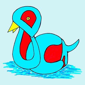 Duck by missmoneypenny