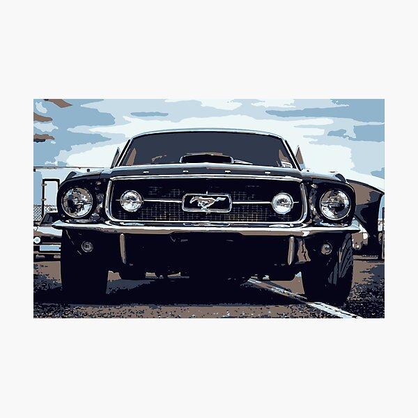 Mustang Photographic Print