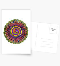 Spirals - Celtic Mandala Postcards
