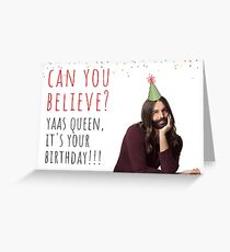 Queer Eye Jonathan Van Ness Quotes 1, meme greeting cards Greeting Card