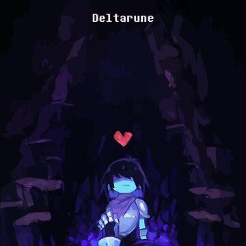 Deltarune - Kris de Bigcoin