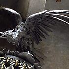 Wrought Iron Bird, Palau Guell, Barcelona by wiggyofipswich