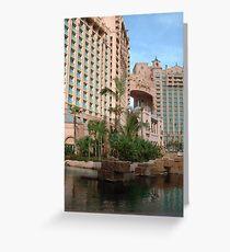 Royal Towers at Atlantis Greeting Card