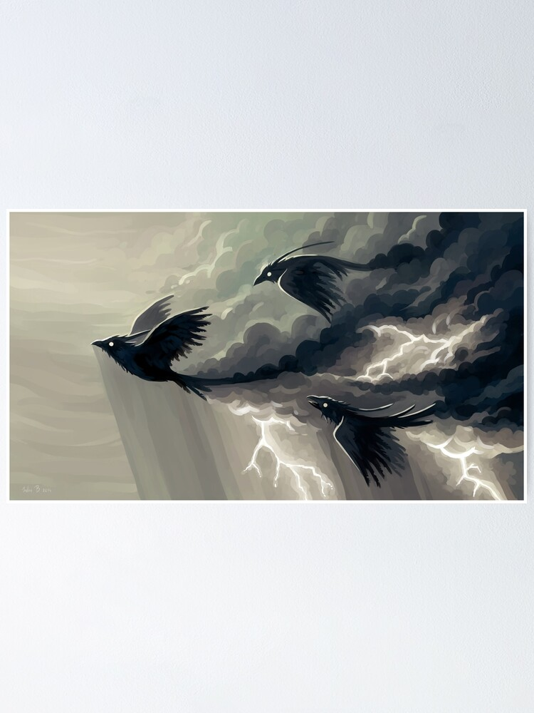 Alternate view of Stormbringers Poster
