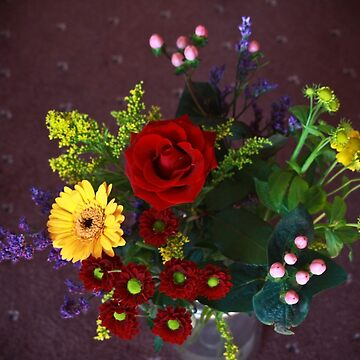 A complete bouquet given with love by missmoneypenny