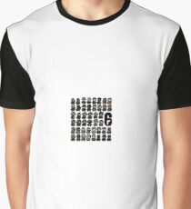 Rainbow 6 Pixel Art Graphic T-Shirt