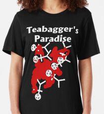 Teabagger's Paradise Slim Fit T-Shirt