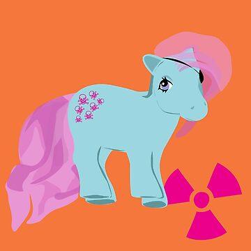 my little radioactive pony by 2piu2design