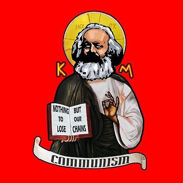 KARL MARX ICON by Calgacus