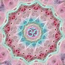 Mandala - Healing Om by Lilaviolet