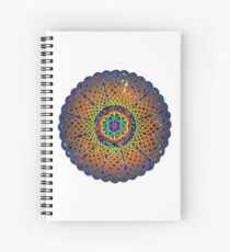 Flower of Life Celtic Mandala Spiral Notebook