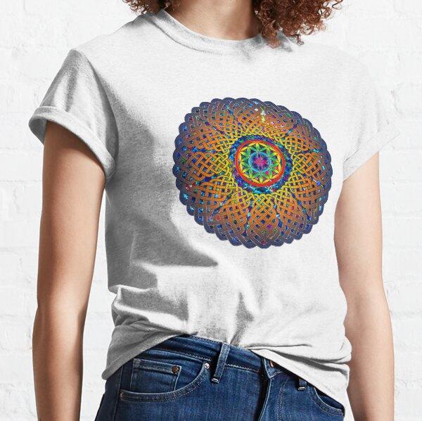 Flower of Life Celtic Mandala Classic T-Shirt