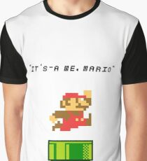 It's-a me, Mario! Graphic T-Shirt