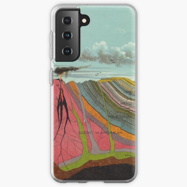 Vintage Geology and Meteorology Diagram (1893) Samsung Galaxy Soft Case